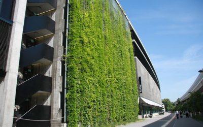 Green wall at Sihl City – Zurich