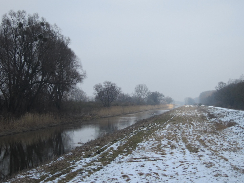 View of the Canal from the Hungarian side